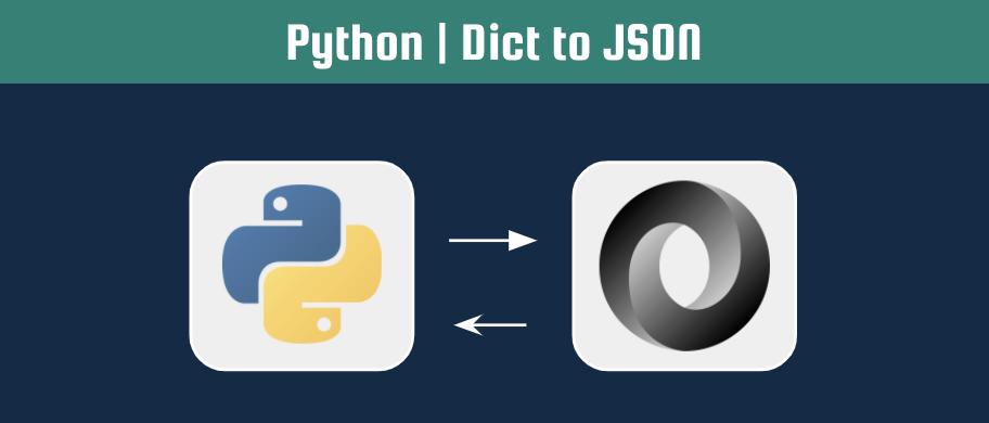 python dict to JSON header