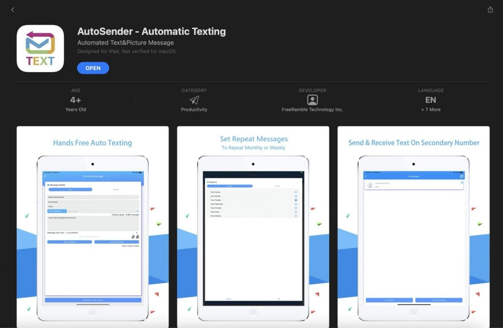 How To Send Automated Text Messages on Iphone: AutoSender