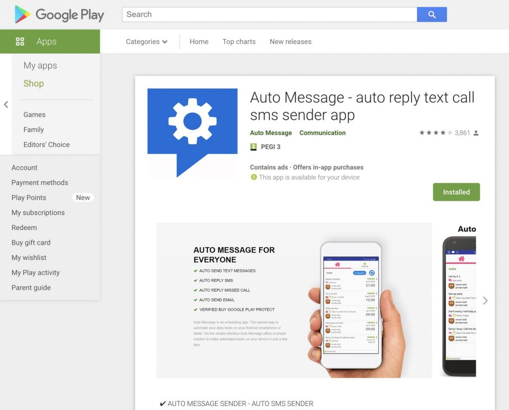 How To Send Automated Text Messages on Android: Auto Message
